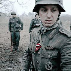 Tom Schilling from Generation War.