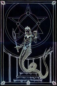 Arcana - The Empress by Lakandiwa on DeviantArt