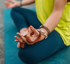 The best thing about a mudra is that you can use it anytime, anywhere.