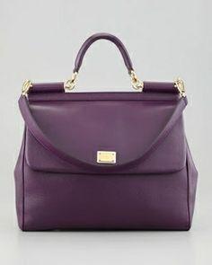 Deep purple.  DOLCE  GABBANA