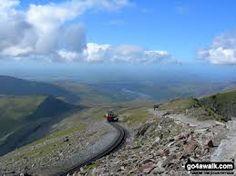 Mount Snowdon (Yr Wyddfa) Summit in Llanberis, Gwynedd