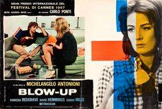 #Sixties | Blow-Up, starring David Hemmings, Sarah Miles and Vanessa Redgrave, 1966