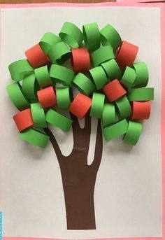 Art activity with ribbon papers Fall Crafts For Kids, Summer Crafts, Toddler Crafts, Projects For Kids, Diy For Kids, Preschool Crafts, Fun Crafts, Arts And Crafts, Paper Crafts