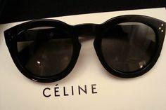 Celine Women's Sunglasses (Ladies Pre-owned Polarized Audrey Black Sun Glasses)