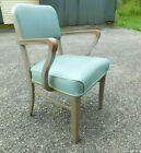 Excellent c1960 Mid Century Modern Retro Steelcase Office Tanker Desk Arm Chair