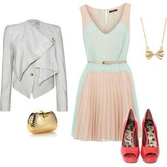 Cute night outfit, created by odonnell2003 on Polyvore