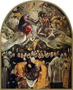 Una de sus obras:  Sepultura del conde de Orgaz