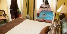 Romeo & Juliet Honeymoon Sanctuary One Bedroom Butler Suite with Private Pool at Sandals Grande Riviera in Ocho Rios, Jamaica