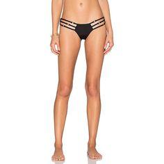 Beach Bunny Bunny Basics Skimpy Bottom Swimwear ($95) ❤ liked on Polyvore featuring swimwear, bikinis, bikini bottoms, swim, bunny bikini, swim bikini, beach bunny, beach bunny swimwear and ruched bikini bottom