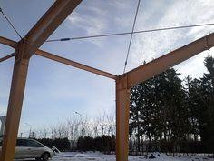 Structura Prejmer - Structuri metalice | Duna-steel.ro Utility Pole, Metal, Dune, Metals