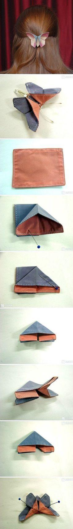 Un broche DIY de origami
