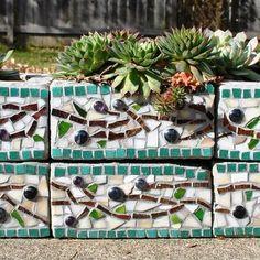 Cinder Block Garden Design, Pictures, Remodel, Decor and Ideas