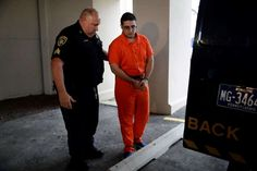 Inmate confesses to killing 4 men, says where bodies are  -  July 13, 2017:     A law enforcement official escorts Cosmo DiNardo, right, to a vehicle Thursday, July 13, 2017, in Doylestown, Pa. Lawyer Paul Lang, a defense attorney for DiNardo, said Thursday that his client has admitted killing the four men who went missing last week and told authorities the location of the bodies. Lang says prosecutors agreed to take the death penalty off the table in return for DiNardo's cooperation.