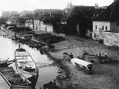 Praha-Podskalí History Photos, Czech Republic, Paris Skyline, The Past, River, Country, City, Amazing, Places