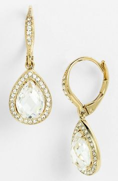 Pear Drop Earrings Pear drops Drop earrings and Pear