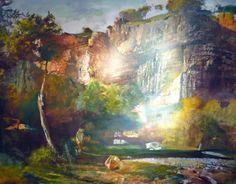 'Aveyroni táj (Aveyron Landscape)', Csernus Tibor Painting, Landscape, Artist, Scenery, Painting Art, Artists, Paintings, Painted Canvas, Corner Landscaping