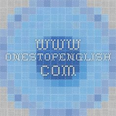 www.onestopenglish.com