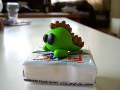 FIMO Dino say Rawr by ~sweetkrissy on deviantART