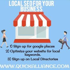 Here are some local #SEO that can help your #business #internetmarketing