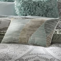 Found it at AllModern - Bengal Embroidered Cotton Lumbar Pillow