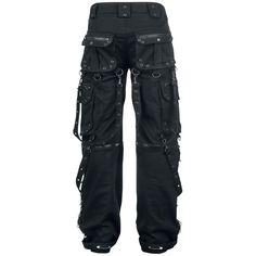 """Gothicana by EMP Cargobroeken """"Creed Bondage Trousers"""" zwart • Large"""