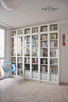 IKEA BILLY geel boekenkast / gele vitrine - Kasten | Boekenkasten ...