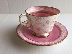 VINTAGE RARE ENGLISH TEA CUP & SAUCER  China Fenton