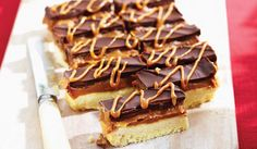 This has to be the best dessert I've ever made. Insanely addictive!! Millionaire's Shortbread Bars Recipe