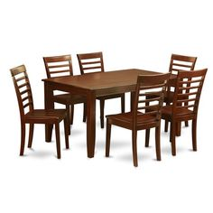 Found it at Wayfair - Dudley 7 Piece Dining Set