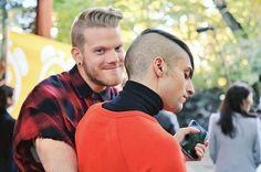 "Mitch Grassi on Instagram: ""I'll miss u Japan I don't wanna leave yet @scotthoying"""