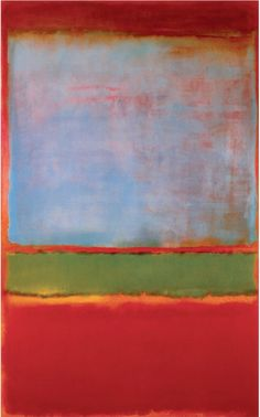 Mark Rothko, No. 6 (Violet, Green and Red), 1951