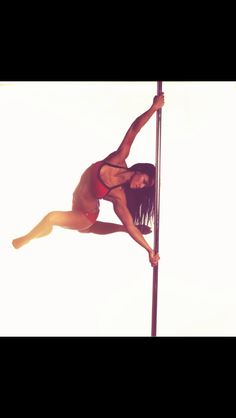 Pole fitness moves