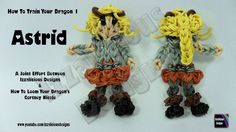 Rainbow Loom - Astrid from How To Train Your Dragon 1 - Action Figure/Ch...