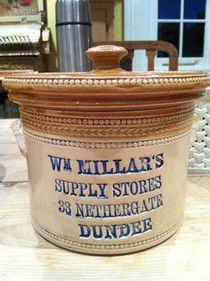 Scottish Butter crock