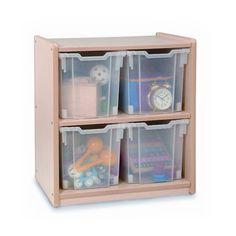 Whitney Brothers Jumbo Tray Melamine Storage Cabinet - WB0704