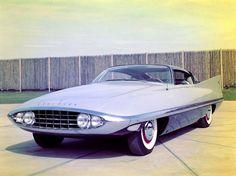 1956 Dodge Dart concept car prototype futuristic...