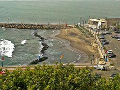 Playa privada del club Regatas.