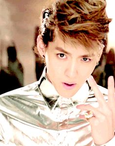 """Kris is the """"cute one,"""" so he's basically the Harry Styles of EXO. 