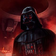 Darth Vader (from Star Wars Episode IV: A New Hope, 1977) Portrayed by David Prowse & Bob Anderson, Voiced by James Earl Jones.