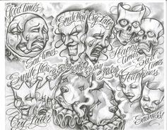 Below Are Images Relating To Boog Tattoo Flash Sheets And Post Chicano Tattoos, Amor Chicano, Chicano Drawings, Gangsta Tattoos, Kunst Tattoos, Flash Art Tattoos, Tattoo Flash Sheet, Body Art Tattoos, Boog Tattoo