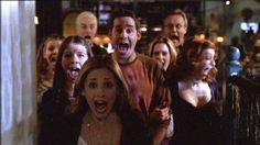 19 TV Shows Summed Up In One Picture- Buffy the Vampire Slayer