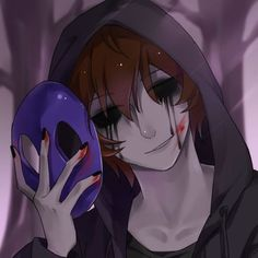 Eyeless Jack (credits to the artist) Eyeless Jack, Ben Drowned, Creepypasta Wallpaper, Creepypasta Slenderman, Creepy Pasta Family, Super Anime, Jeff The Killer, Arte Horror, Scary Stories