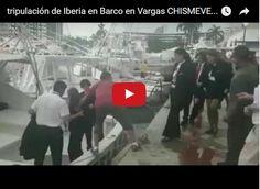 Tripulación de Iberia tuvo que salir en lancha para llegar a Maiquetía  http://www.facebook.com/pages/p/584631925064466