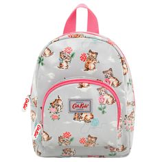 An excellent sized rucksack for little boys out and about. Ideal for nursery or holidays and the right size for snacks and his favourite toy. The Cath Kidston mini cowboy. Botanical Fashion, Cat Mouse, Cath Kidston, Kids Bags, School Bags, Fashion Backpack, Little Girls, Kittens, Kids Fashion