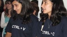 When these identical twins were spotted wearing these shirts.   The 24 Nerdiest Things That Have Ever Happened
