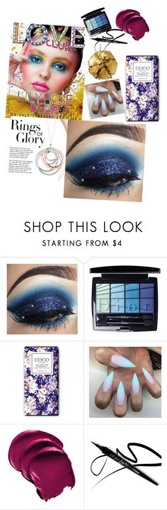 """""""#makeup"""" by minna-25369 ❤ liked on Polyvore featuring beauty, Tiffany & Co., Christian Dior and Pat McGrath"""