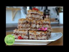 Prajitura cu mere de post (fara zahar, fara gluten) Sin Gluten, Sweets, Candy, Youtube, Desserts, Food, Pie, Glutenfree, Tailgate Desserts