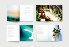INARIA | Luxury brand design consultants | Pure Escapes brand identity