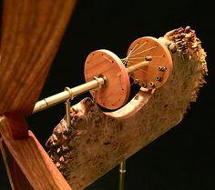 Wave whirligig custom handcrafted whirligig whirligigs whirligig whirlygigs contemporary American arts and crafts woodwork woodcraft