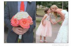 Flower girl, Simple Bouquet, Vintage Bride